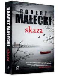 Skaza - okładka książki