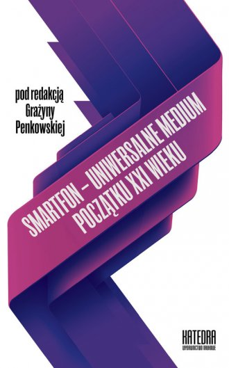 Smartfon uniwersalne medium początku - okładka książki