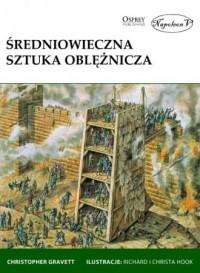 Średniowieczna sztuka oblężnicza - okładka książki