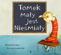 Tomek mały jest nieśmiały - okładka książki