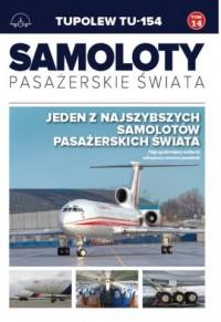 Tupolew TU -154 - okładka książki