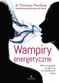Wampiry energetyczne - okładka książki