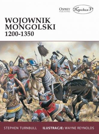 Wojownik mongolski 1200-1350 - okładka książki