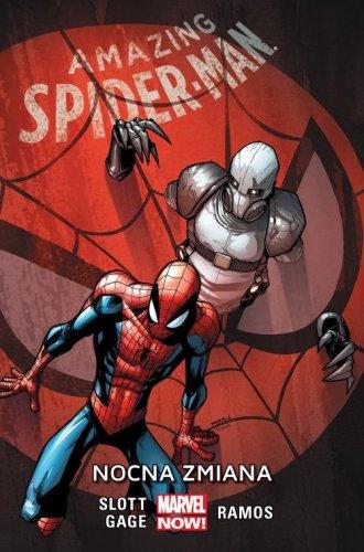 Amazing Spider-Man. Tom 4. Nocna - okładka książki