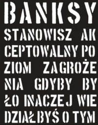 Banksy - okładka książki