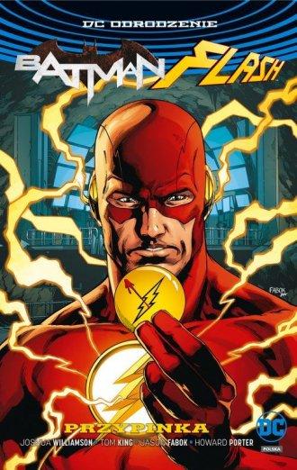 Batman Flash. Przypinka - okładka książki