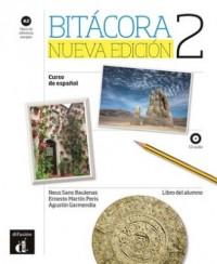Bitacora 2 Podręcznik ucznia. Poziom A2 - okładka podręcznika