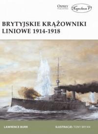 Brytyjskie krążowniki liniowe 1914-1918 - okładka książki