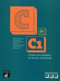 C de C1 Libro del alumno - okładka podręcznika