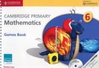 Cambridge Primary Mathematics Games Book with CD - okładka podręcznika