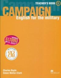 Campaign 3. Teachers Book - okładka podręcznika