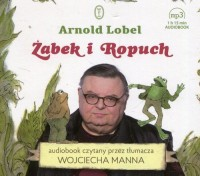 Żabek i Ropuch (CD mp3) - pudełko audiobooku