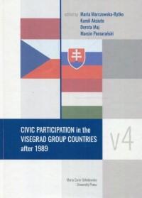 Civic Participation in the Visegrad Group Countries after 1989 - okładka książki