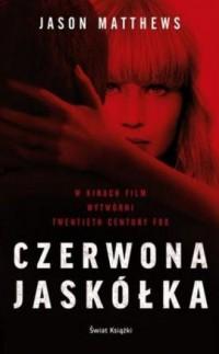 Czerwona jaskółka - okładka książki