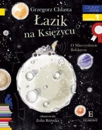 Czytam sobie. Łazik na księżycu. Poziom 1 - okładka książki