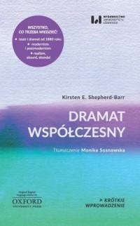 Dramat współczesny. Krótkie Wprowadzenie 17 - okładka książki