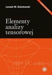 Elementy analizy tensorowej - okładka książki