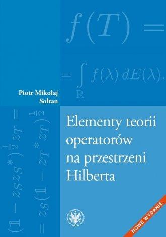 Elementy teorii operatorów na przestrzeni - okładka książki