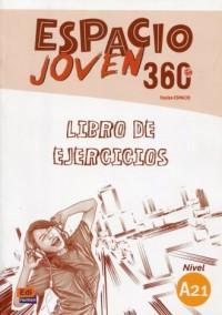 Espacio Joven 360 A2.1 Ćwiczenia - okładka podręcznika