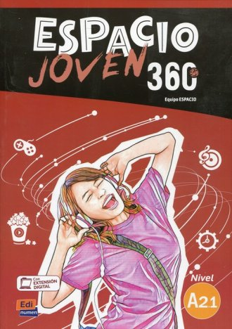 Espacio Joven 360 A2.1 Podręcznik - okładka podręcznika