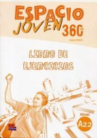 Espacio Joven 360 A2.2 Ćwiczenia - okładka podręcznika