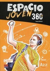 Espacio Joven 360 A2.2 Podręcznik - okładka podręcznika