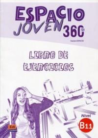 Espacio Joven 360 B1.1. Ćwiczenia - okładka podręcznika