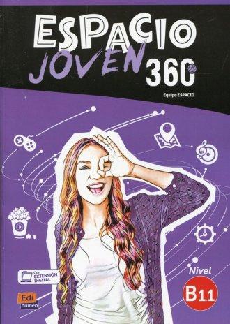Espacio Joven 360 B1.1 Podręcznik - okładka podręcznika