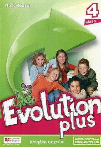 Evolution Plus 4. Szkoła podstawowa. - okładka podręcznika
