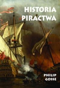 Historia piractwa - Philip Gosse - okładka książki