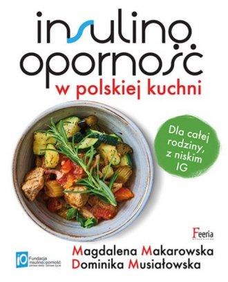 Insulinooporność w polskiej kuchni. - okładka książki