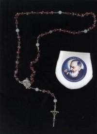 Jubileuszowy różaniec ku czci św. Ojca Pio - dewocjonalia