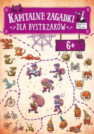 Kapitalne zagadki dla Bystrzaków - okładka książki