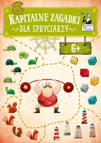 Kapitalne zagadki dla Spryciarzy - okładka książki