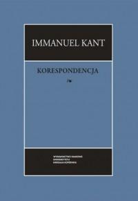 Korespondecja - okładka książki
