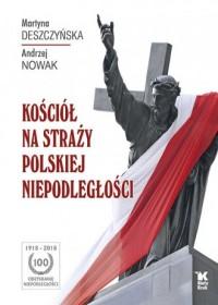Kościół na straży polskiej niepodległości - okładka książki