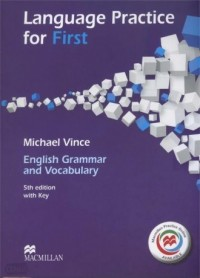 Language Practice for First Książka ucznia bez klucza Macmillan Practice Online - okładka podręcznika
