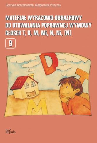 Materiał wyrazowo-obrazkowy do - okładka książki