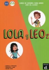 Lola y Leo 2 A 1.2. Podręcznik - okładka podręcznika