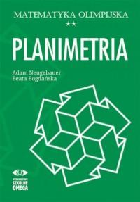 Matematyka olimpijska. Planimetria - okładka książki
