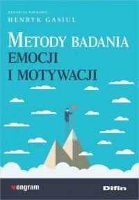 Metody badania emocji i motywacji - okładka książki