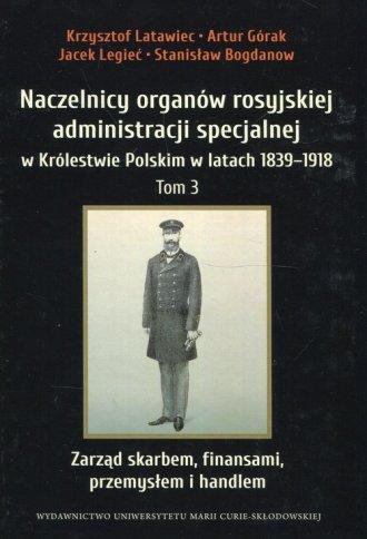 Naczelnicy organów rosyjskiej administracji - okładka książki