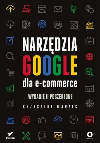 Narzędzia Google dla e-commerce - okładka książki