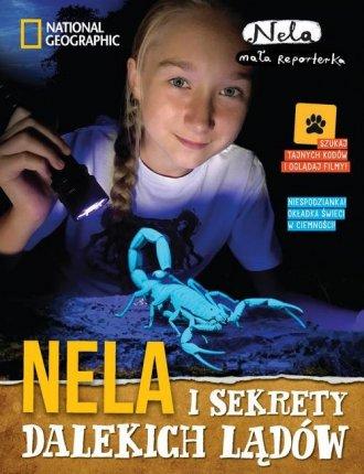 Nela i sekrety dalekich lądów - okładka książki