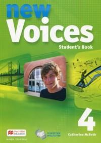 New Voices 4. Gimnazjum. Podręcznik wieloletni - okładka podręcznika