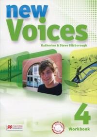 New Voices 4. Zeszyt ćwiczeń. Wersja podstawowa - okładka podręcznika
