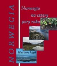 Norwegia na cztery pory roku - okładka książki