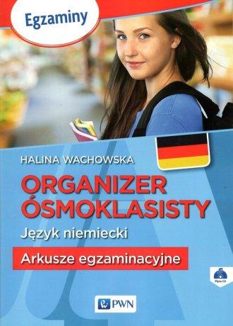 Organizer ósmoklasisty. Język niemiecki. - okładka podręcznika