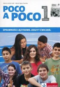 Poco a Poco 1. Sprawności językowe. Zeszyt ćwiczeń - okładka podręcznika