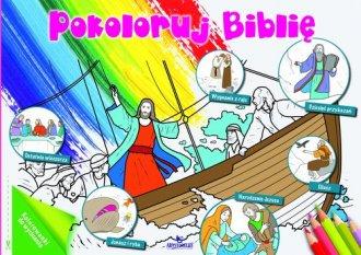 Pokoloruj Biblię - okładka książki